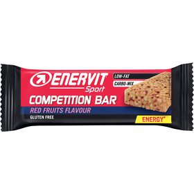 Enervit Sport Competition Bar Sacoche 25x30g, redfruit